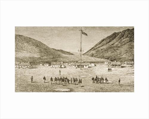 Fort Douglas Camp and Red Buttes Ravine near Salt Lake City, Utah by Reverend Samuel Manning