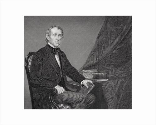 Portrait of John Tyler by Alonzo Chappel