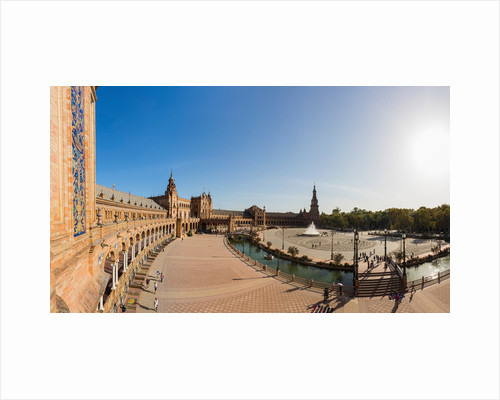 Seville, Spain. Plaza de España by Unknown