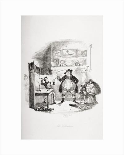 The Valentine by Hablot Knight Browne