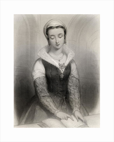 Lady Jane Grey illustration by Pierre Gustave Eugene Staal