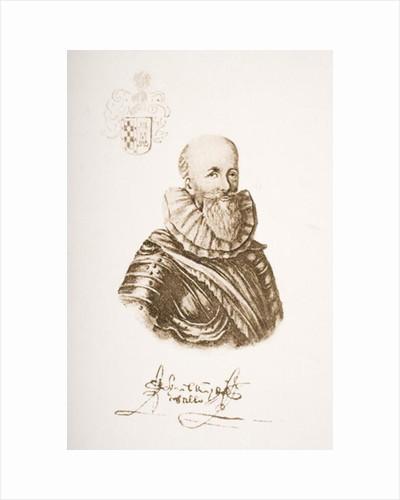 Bernal Diaz del Castillo by Spanish School