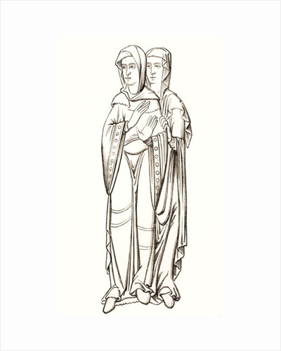 Costumes of Ladies of the Frankish Court by French School