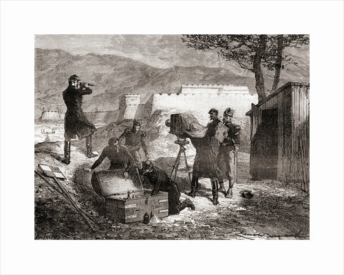 The use of photography by the French army during the 19th century by French School