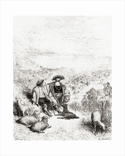 The Shepherd and the King by Gustave Dore