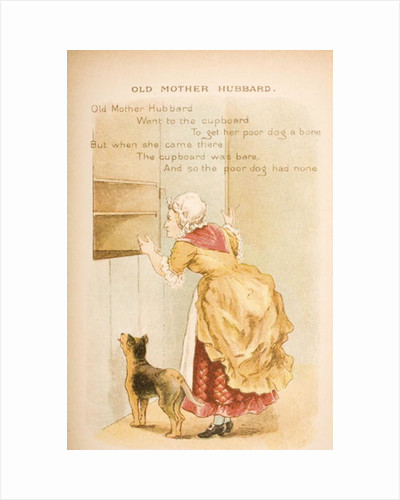 Old Mother Hubbard by Constance Haslewood