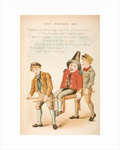 Guy Fawkes Day by Constance Haslewood