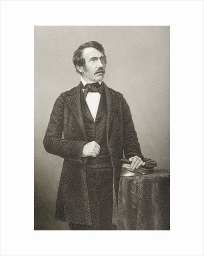 David Livingstone engraved by D.J. Pound from a photograph by John Jabez Edwin Paisley Mayall