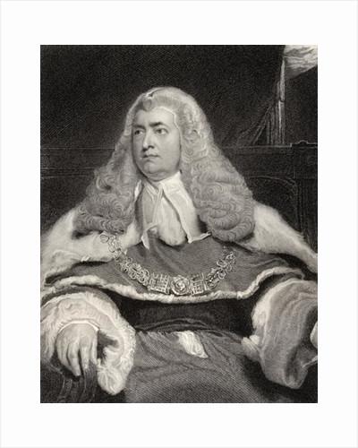 Edward Law, 1st Baron Ellenborough by Sir Thomas Lawrence
