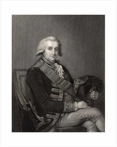 Admiral George Brydges Rodney by English School