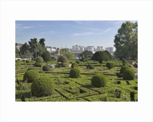The palace gardens by Unknown
