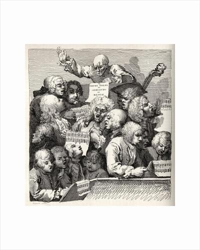 The Chorus by William Hogarth