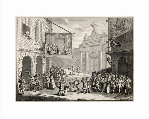 Masquerades and Operas, Burlington Gate by William Hogarth
