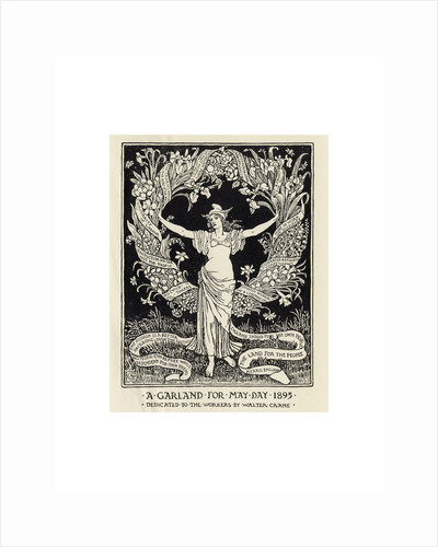 A Garland for May Day by Walter Crane