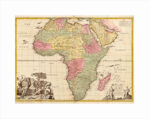 Africa by John Senex