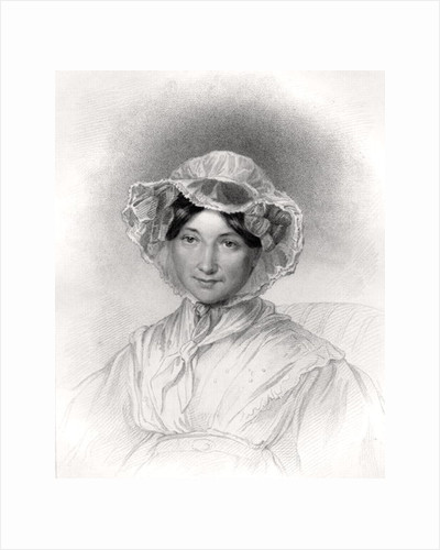 Frances Trollope, engraved by W. Holl by Lucy Adams