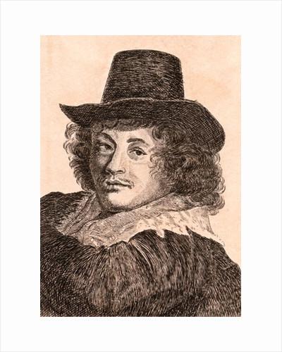 Frans Hals by James Girtin