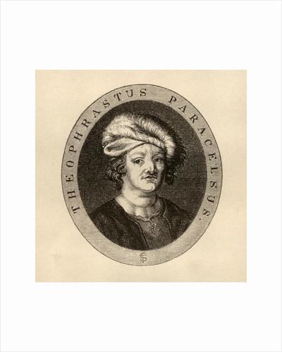 Paracelsus Theophrastus by J. Cooper