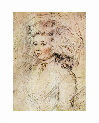 Anna Maria Woodforde (Nancy) by Anonymous