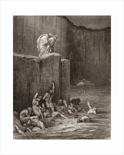 Illustration for Inferno by Dante Alighieri by Anonymous
