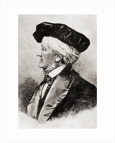 Wilhelm Richard Wagner by Anonymous