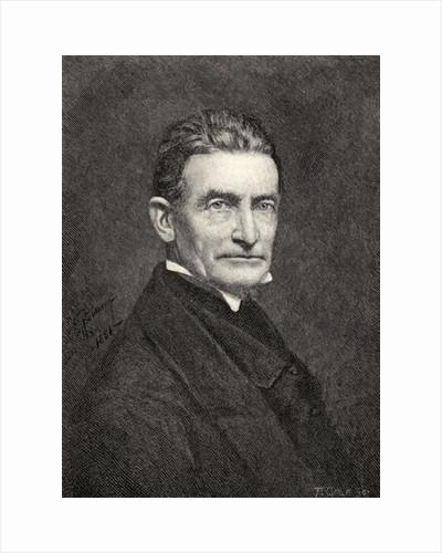 Portrait of John Brown by American School