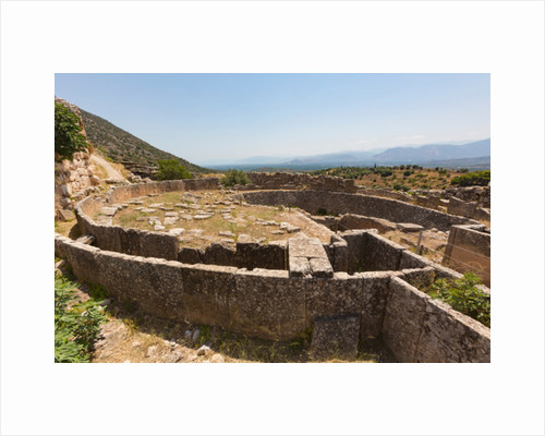 Mycenae, Greece by Anonymous