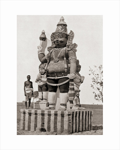 A village deity by Anonymous