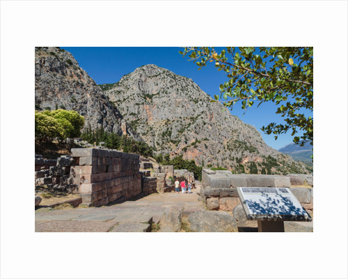 Ancient Delphi, Phocis, Greece by Anonymous