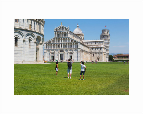 Campo dei Miracoli, or Field of Miracles, Pisa, Pisa Province, Tuscany, Italy by Anonymous