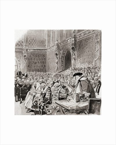The trial of a Peer in the House of Lords by Anonymous