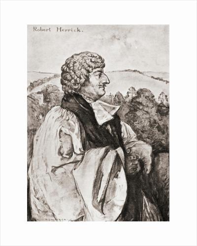 Robert Herrick by Anonymous