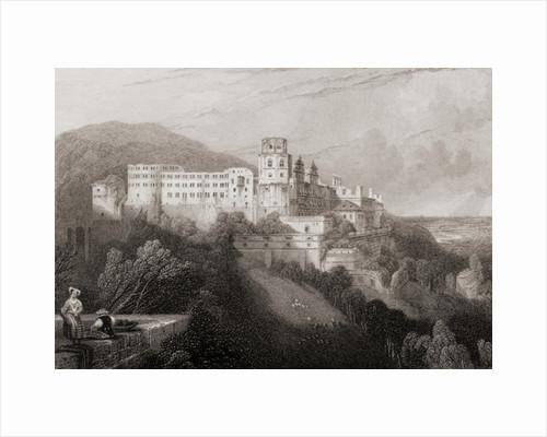 Heidelberg Castle, Heidelberg, Germany by Anonymous