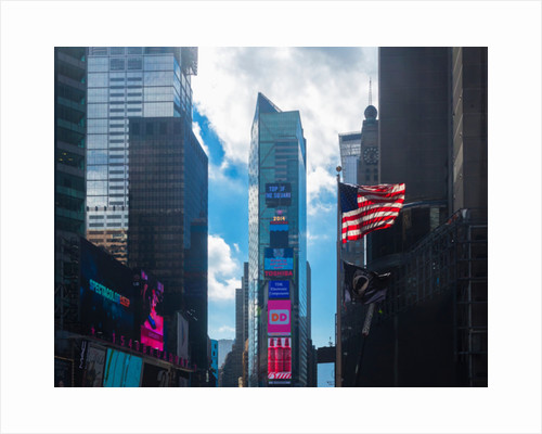 Buildings in Times Square by Anonymous