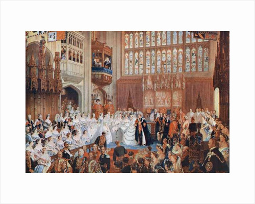 The marriage of the Prince of Wales to Alexandra of Denmark by Anonymous