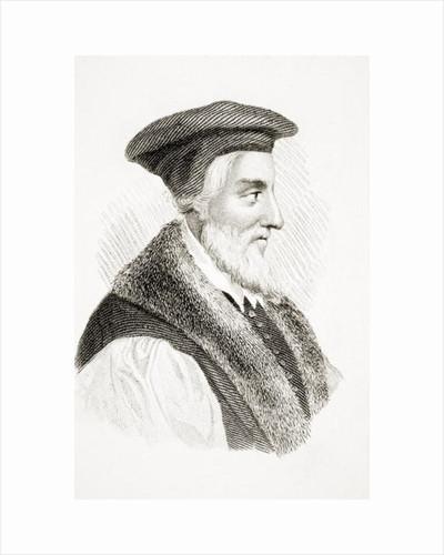 Bishop Hugh Latimer by English School
