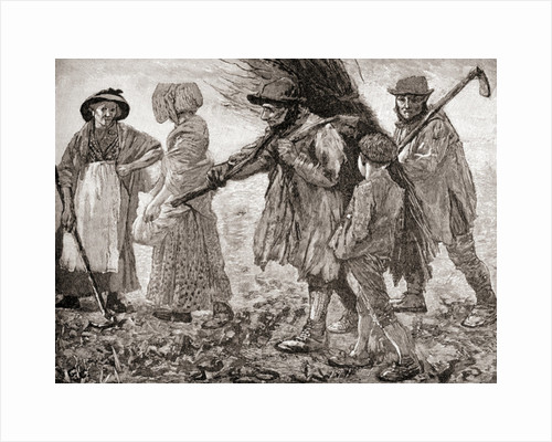 Agricultural labourers at the time of the Poor Law Reform Act in England by Anonymous