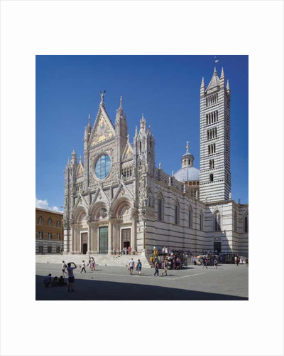 Cathedral, Siena, Italy by Anonymous