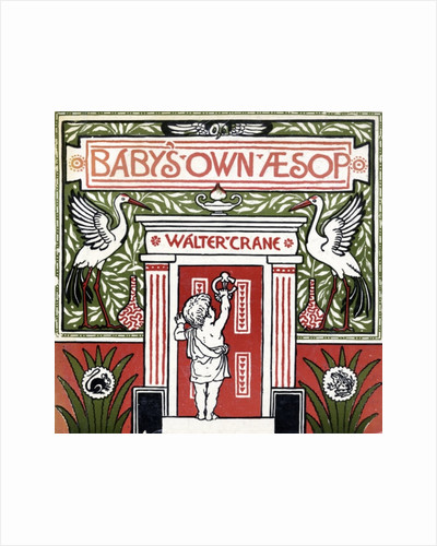 Front cover of 'Baby's Own Aesop' by Walter Crane