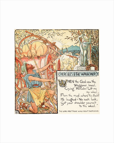 Hercules and the Waggoner by Walter Crane