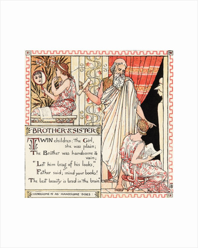 Brother and Sister by Walter Crane
