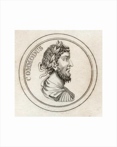 Emperor Commodus by English School