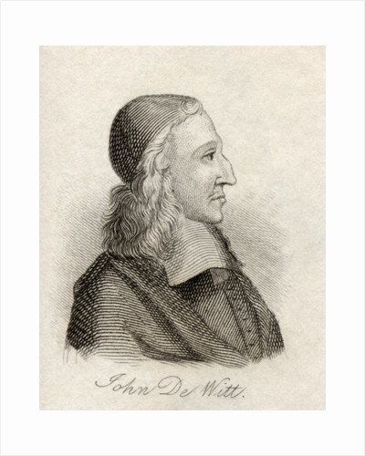 Johan de Witt by English School
