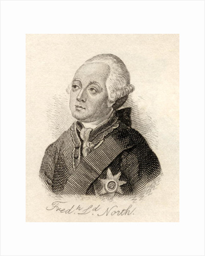 Frederick North, 2nd Earl of Guildford by English School