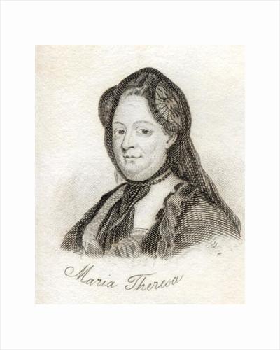 Maria Theresa by English School