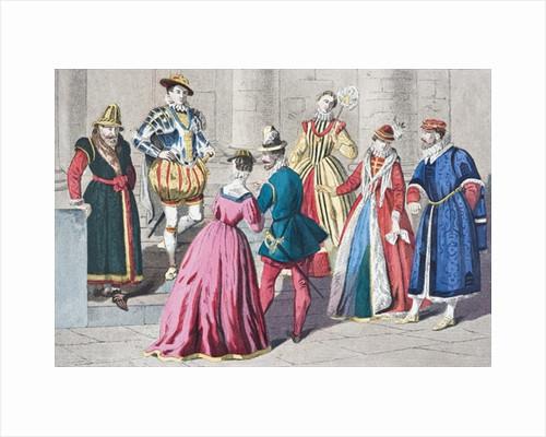 English fashions of the 16th century by English School