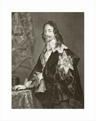 Charles I by English School