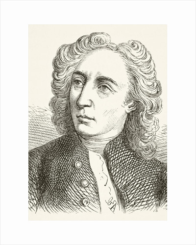 Alexander Pope by English School
