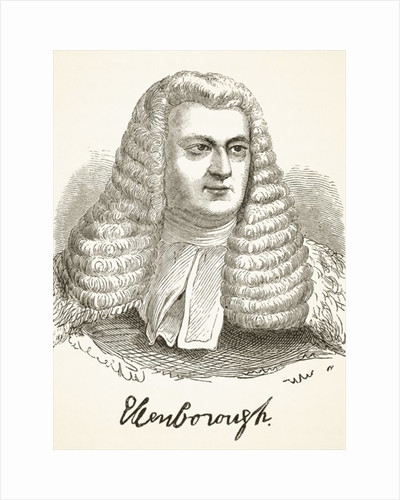 Edward Law, 1st Baron Ellenborough by English School
