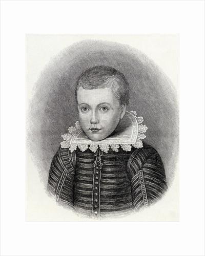 John Milton aged 10 by English School